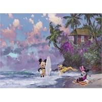 Ravensburger Romantik Mickey Sörf 500 Parça Puzzle