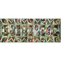 1000 Parça Ravensburger Sistina Şapeli Puzzle (Panorama)