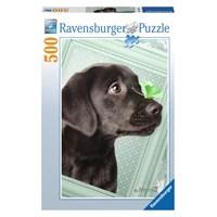 Ravensburger 500 Parça Puzzle Şanslı Köpek