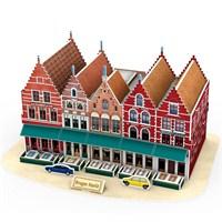 Cubic Fun 3D Puzzle - Bruges Markt