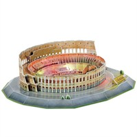 Cubic Fun 3D 185 Parça Colosseum Puzzle (Led Işıklı)