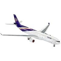 Revell 1:144 Uçak Maketi Airbus A330-300 Thai