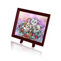 Pintoo Kediler Çilek Sepetinde - 150 Parça Xs Puzzle