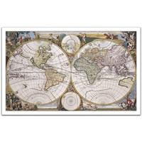 Pintoo Eski Denizci Haritası - 1000 Parça Plastik Puzzle