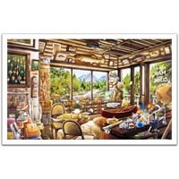 Pintoo Balıkçılık Haritası Ve Rehber Dükkanı - 1000 Parça Puzzle