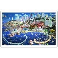 Pinto San Francisco - 1000 Parça Puzzle