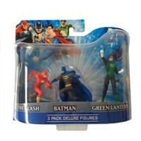 Dc Comics Batman Green Lantern Flash 3'Lü Figür Seti