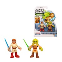 Star Wars Jedi Force Obi-Wan Kenobi Kit Fisto Figure Pack