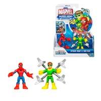 Marvel Super Hero Adventures Spider-Man Dock Ock Figures