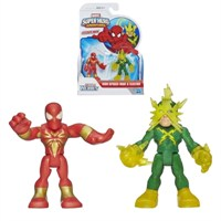 Marvel Super Hero Adventures Spider-Man Electro Figures