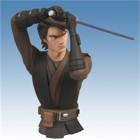 Star Wars Clone Wars Anakin Skywalker Bust Bank