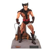 Marvel Select Unmasked Brown Wolverine Maskesiz Figür