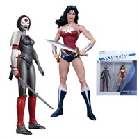 Justice League New 52 Wonder Woman Vs. Katana 2 Pack Figure