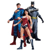 New 52 Superman Batman Wonder Woman 3'Lü Set