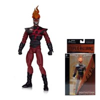 Dc Comics Super Villains Deathstorm Action Figure