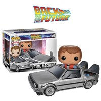 Funko Rides Back to the Future Delorean POP