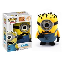 Despicable Me 2 Carl With Mustache Pop! Figure