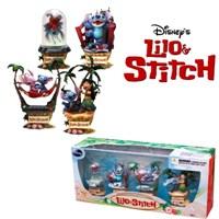 Lilo & Stitch Disney Formation Arts Figures Set Of 4
