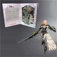 Final Fantasy Xııı-2: Lightning Play Arts Kai Figür