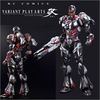Dc Comics Variant Play Arts Kai Cyborg
