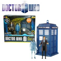 Doctor Who: Hide Caliburn House Figure Set