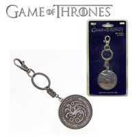 Game Of Thrones Targaryen Shield Snap Keychain Anahtarlık