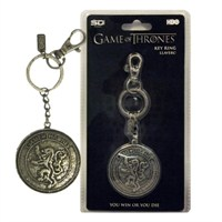 Game Of Thrones Lannister Shield Snap Keychain Anahtarlık