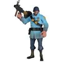 Team Fortress Series 2 Deluxe Blu Soldier Figür