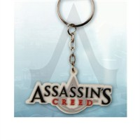 Assassin's Creed Logo Rubber Keychain Anahtarlık
