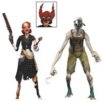 Bioshock Crawler & Ladysmith Splicer 2'Li Figür Seti