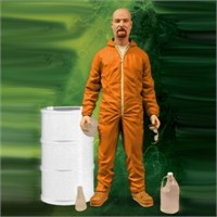 Breaking Bad Exclusive Walter White İn Orange Hazmat Figür