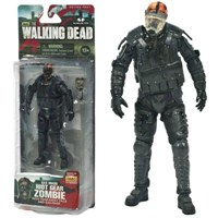 The Walking Dead:Riot Gear Gas Mask Zombie Figür Tv Series 4