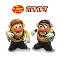 Mr. Potato Head Star Trek Captain Kirk & Klingon Kor