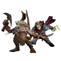 World Of Warcraft Gnome Rogue Ve Kobold Miner Figürleri