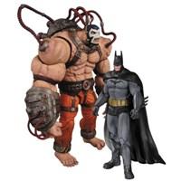 Batman Arkham Asylum Bane & Batman 2'Li Figür Paketi