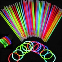 Glow Stick Fosforlu Kırılan Çubuk - 100 Adet