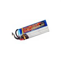 Gens Ace 5000Mah 22.2V 45C 6S1p Lipo Batarya