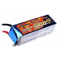 Gens Ace 5100Mah 14.8V 35C 4S1p Lipo Batarya