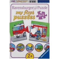 Araçlar (3X6 Parça Puzzle)