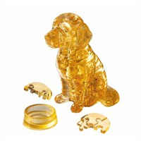 Crystal Puzzle, Golden Retriever