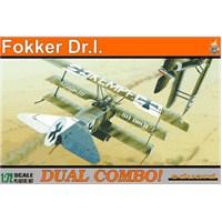 Fokker Dr.I Dual Combo (1/72 Ölçek)