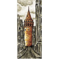 Galata Kulesi, Dikey (70 Parça)