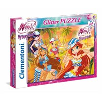 Glitter Winx (104 Parça Puzzle)