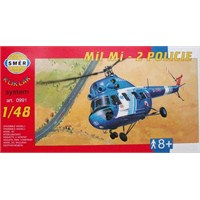 Helicopter Mi 2 - Police (Ölçek 1:48)
