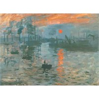 Impression Soleil Le, Monet (1000 Parça)