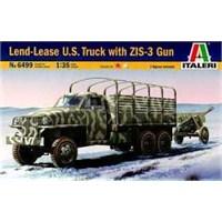 Land Lease U.S. Tryck & Zıs-3 Gun (1/35 Ölçek)