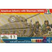 M4 Sherman Us Infantry (1:72 Ölçek)