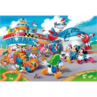 Mickey's Toon Town: The Airport (40 Parça, Yer Yap