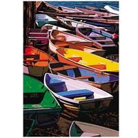 Renkli Kayıklar (1000 Parça)