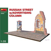 Russian Street W/Advertising Column (Ölçek1:35)